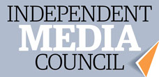 Independent Media Council Australia logo.